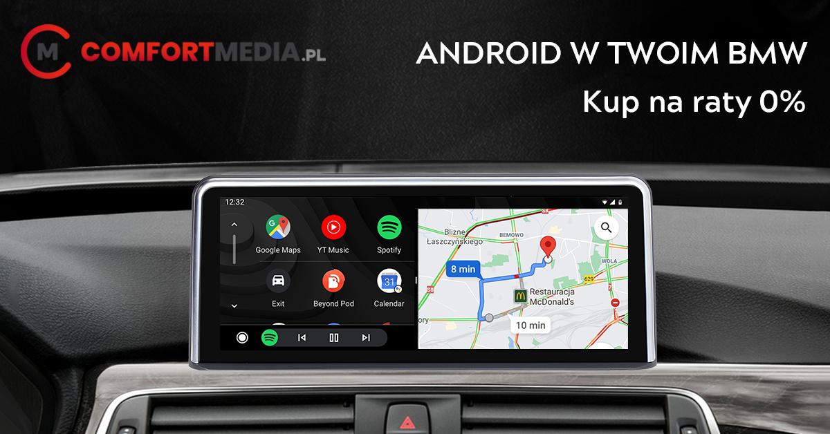 Radio nawigacja zsystemem Android – odblokuj nowe funkcje wswoim BMW